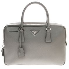 Prada Top Handle Zip-Around Satchel