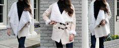 EVERYDAY SEW: ΠΑΛΤΟ SHERPA Kimono Top, Sewing, Tutorials, Coats, Women, Jewelry, Fashion, Jewellery Making, Moda