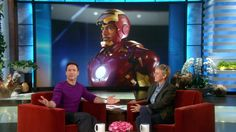Robert Downey, Jr. spilled the beans on the Ellen Show. There will be another Iron Man movie! Woo Hoo! Anyone else here love Downey in that role? #ironman