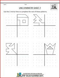 Here you will find our selection of line Symmetry Worksheets for kids. There are a range of line symmetry worksheets to help children master reflecting or flipping a shape. Symmetry Worksheets, Symmetry Activities, Art Worksheets, Worksheets For Kids, Math Activities, Teaching Tools, Teaching Math, Symmetry Art, Grade 6 Math