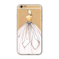 iPhone Case For iPhone 6 6s 7 7plus 8 8Plus 5 5s SE Girl Design Soft TPU