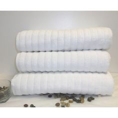 @Overstock - Maxima Turkish Combed Cotton Bath Sheet (Set of 3) - Pamper yourself with this high-quality set of cotton bath sheets. The luxurious towels feature a comforting chunky-rib pattern with preshrunk dobby borders for maintained shape. Their rich 650 gsm fabric is from soft 100 percent Turkish combed cotton.  http://www.overstock.com/Bedding-Bath/Maxima-Turkish-Combed-Cotton-Bath-Sheet-Set-of-3/7832568/product.html?CID=214117 $54.99