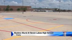 Hockey rink mysteriously spray-painted on Texas high school parking lot - http://sports.yahoo.com/blogs/nhl-puck-daddy/hockey-rink-mysteriously-spay-painted-on-texas-high-school-parking-lot--video-152040446.html #GAMEON