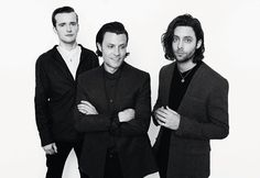 Orlando Weeks, Felix White and Sam Doyle from The Maccabees for Dominic Jones S/S14 Menswear