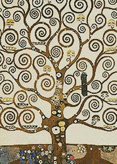 Tree of Life - cross stitch pattern designed by Tereena Clarke. Category: Paintings.