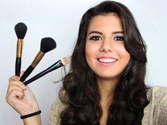 Maquiagem para Iniciantes: Kit de Pincéis, Pincéis Essenciais | DICAS | Kits Marcas Recomendo - YouTube