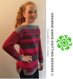 Teen's Jumper knitting pattern