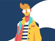 Boy by Ricky Linn #Design Popular #Dribbble #shots