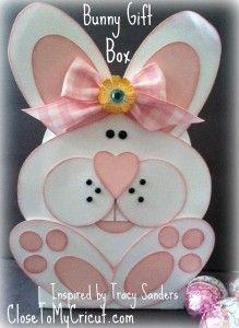 My Cricut bunny basket