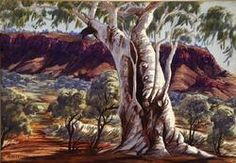 Discover the value of your art. Our database has art auction market prices for Albert Namatjira, Australia (Aboriginal) and other Australian and New Zealand artists covering the last 40 years sales. Watercolor Landscape, Landscape Paintings, Landscapes, Watercolour Painting, Aboriginal History, Aboriginal Artists, Indigenous Australian Art, Australian Artists, Australian Aboriginals