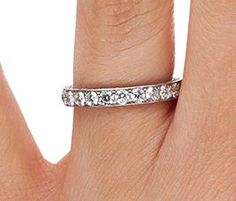 My wedding band! Luxe Antique Scroll Ring (3/4 ct.tw.)