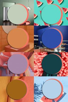 COLOR TRENDS 2020 starting from Pantone 2019 Living Coral matches Farbtrends 2020 Interieur, Pantone 2019 Living Coral, Interior Trends, Italianbark Graphisches Design, Design Trends, Coral Design, 2020 Design, Milan Design, Design Color, Design Concepts, Design Firms, Color Trends 2018