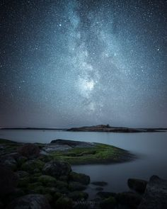 The Milky Way. Photos of starry Finnish nights by Oscar Keserci Photography. | On bored panda.