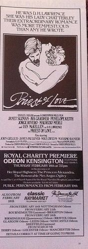 Priest of Love Movie ads Film Releases, Love Movie, Priest, Romance, Ads, Movies, Photos, Romance Film, Romances
