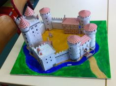 free cardboard castle printouts