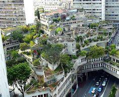 Ivry-sur-Seine - Housing Complex, Paris. Architect: Jean Renaudie - Construction: 1970-1975