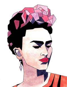 alternativo, frida kahlo, art, watercolor, tumblr - image #4281353 ...