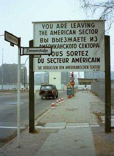 Checkpoint Charlie - Berlin. I crossed here from West to East and back to West Berlin June 4, 1988ish