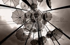 flying umbrellas by archonGX on DeviantArt Concept Photography, Surrealism Photography, Art Photography, Ad Art, Beautiful Artwork, Modern Art, Artsy, Umbrellas, Parasols