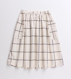 Looks like a cute easy skirt to sew especially if you add an elasticised back waist.