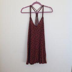 RVCA size XS sundress RVCA size XS sundress. Only worn a few times, no signs of wear. RVCA Dresses Mini