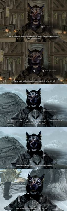 Inigo, the best follower in Skyrim. (Part 3)