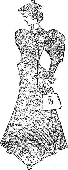 A Tailor Made Suit. (Auckland Star, 04 January 1896)