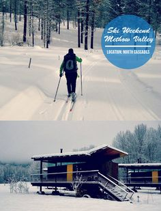 Washington's Methow Valley is the largest cross-country skiing area in the US