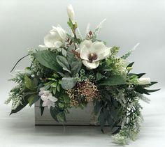 Country Flower Arrangements, Artificial Floral Arrangements, Funeral Flower Arrangements, Christmas Floral Arrangements, Beautiful Flower Arrangements, Floral Centerpieces, Flower Decorations, Farmhouse Decor, Gardens