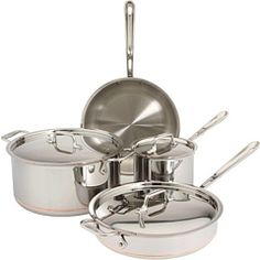 All clad, copper bottom cookware - the best!