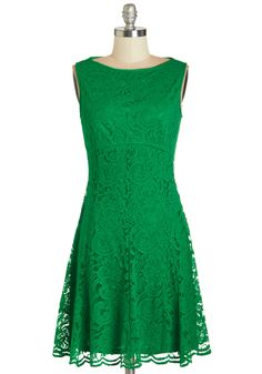 "Green lace ""Reception Perfection"" Dress from ModCloth"