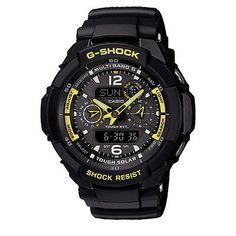 GW3500B-1A Casio G-Shock Men Watch G-Aviation Multifunction Black – Watch Wiser Timepieces & Accessories