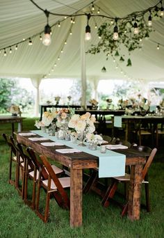 Wedding Tents: Decorating Ideas | image.ie