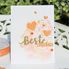Loving words-Stampin Up Paper Craft Making, Diy Paper, Paper Crafts, Die Cut Cards, Love Cards, Simple Collage, Beautiful Handmade Cards, Watercolor Cards, Stampin Up Cards