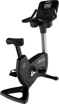Upright Bikes/Air dynes   Life Fitness   Elevation Series Upright Lifecycle Exercise Bike with Explore   Powered by soOlis