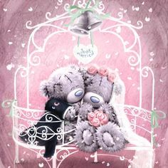 Just Married Me to You Bear Wedding Card : Me to You Bears Online - The Tatty Teddy Superstore. Tatty Teddy, Cute Images, Cute Pictures, Bear Wedding, Wedding Hair, Wedding Tips, Wedding Dresses, Teddy Bear Pictures, Blue Nose Friends