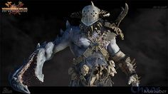 Warhammer Online Chaos Marauder Digital Art