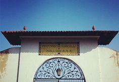Sa Garrovera. Marratxí  #PatrimoniIndustrial Social Security, Industrial, Personalized Items, Majorca, Industrial Music