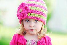 Crochet Hat Pattern by Ruby Webbs, Crochet, Winter Hat, Girls Toddler, Patterns, Hat Patterns, Knit, Crochet