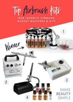 But with so many airbrush makeup kits on the market, which one is the best? | makebeautysimple.com @Cath_Millen