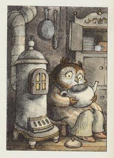 Arnold Lobel 'Owl at Home'