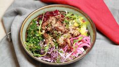 Poke bowl med and Poke Bowl, Frisk, Ciabatta, Cabbage, Vegetables, Eat, Cooking, Ethnic Recipes, Food