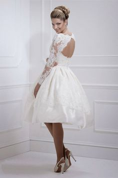 короткие свадебные платья - Поиск в Google