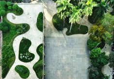 Roberto Burle Marx: Rio's Ministry of Education and Health, designed by Lucio Costa and his (then) ambitious intern Oscar Niemeyer. The garden terrace was designed in collaboration with landscape architect Roberto Burle Marx.
