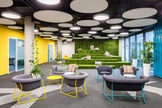 Kiwi.com offices by Kaplan Architekti and Horalik Atelier, Brno – Czech Republic