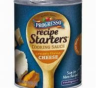Martha's List - The Good, The Bad, The Maybe: Progresso Recipe Starters Cooking Sauce - Cheese