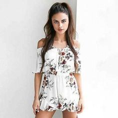 Forever 21 Summer Boho Jumpsuit Size L Relieving Rheumatism Jumpsuits & Rompers Women's Clothing