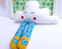 Doll - Cloud Doll - Blue Plush Doll