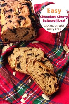 Simple but delicious 10 ingredient gluten, oil and dairy free chocolate cherry bakewell loaf. If you're a fan of anything cherry and almond flavour then with the addition of chocolate which makes anything better. You need to bake this loaf cake recipe asap, promise it won't disappoint.