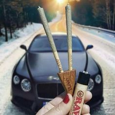 Nice shot! Who would space cruise in this Bentley? #cannabis #joints #preroll #420 #dank #weed Repost by https://www.instagram.com/budlifestyle/